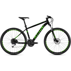 "Ghost Kato 4.7 AL 27.5"", night black/riot green"